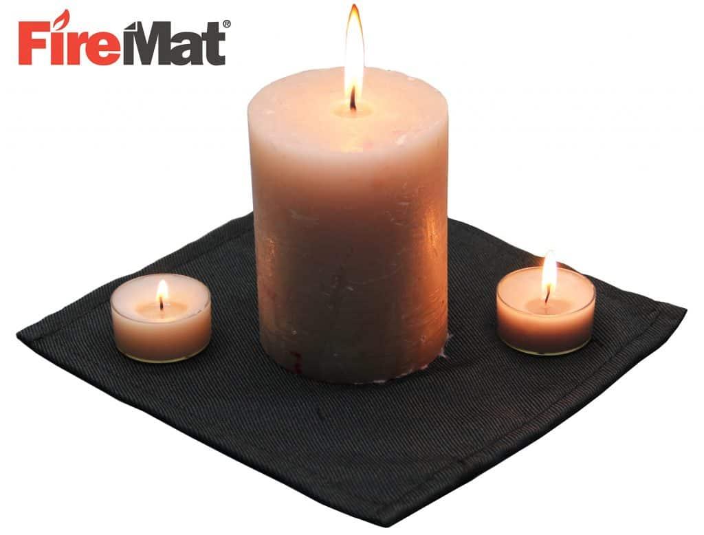 Firemat 19x19cm Brandschutz