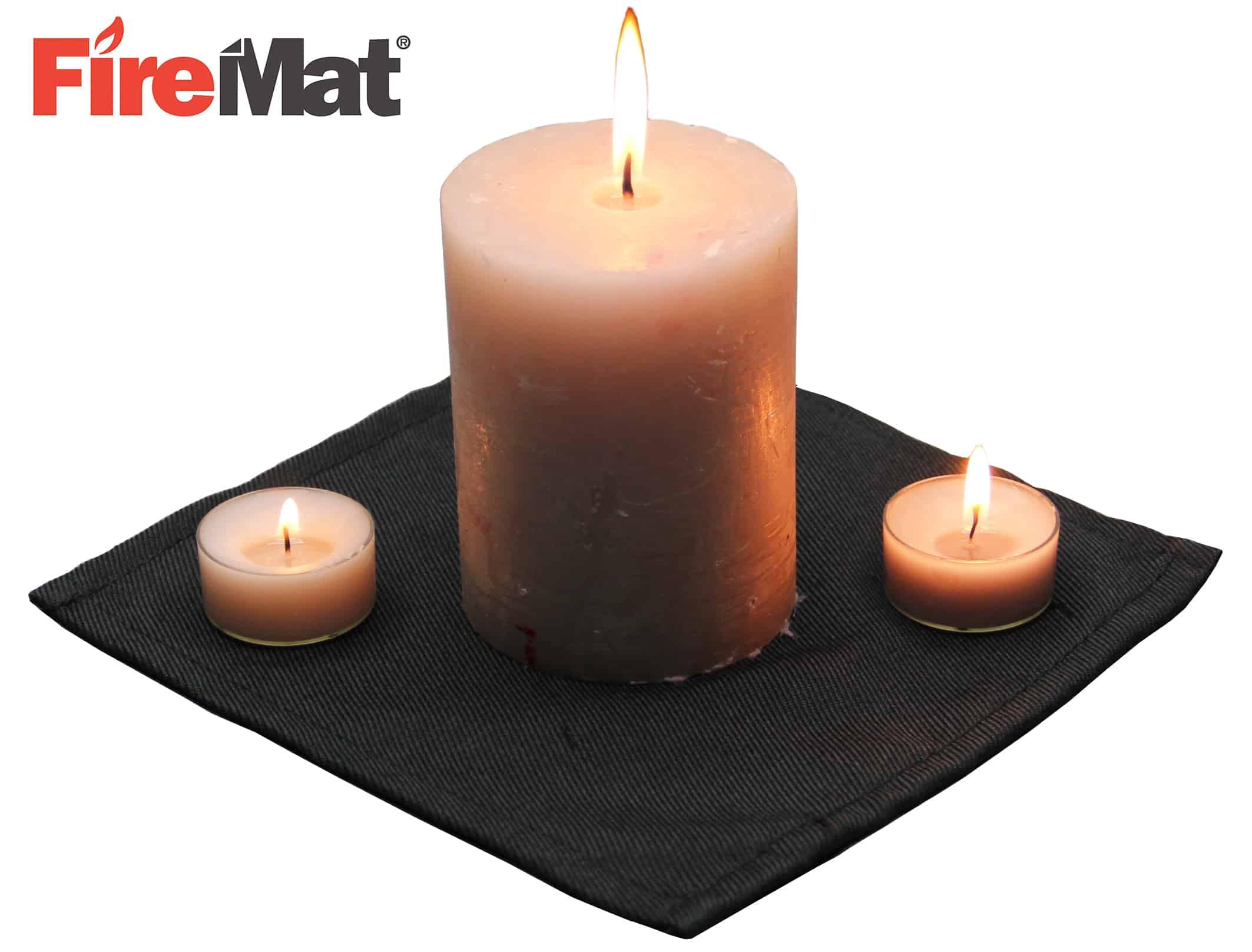 unterlage f r kerzen brandschutzunterlage nutzen firemat brandschutzunterlage feuerfeste. Black Bedroom Furniture Sets. Home Design Ideas