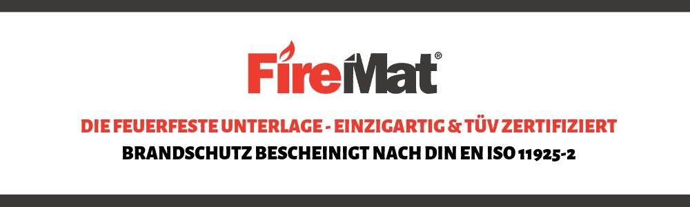 firemat brandschutzunterlage feuerfeste unterlage matte