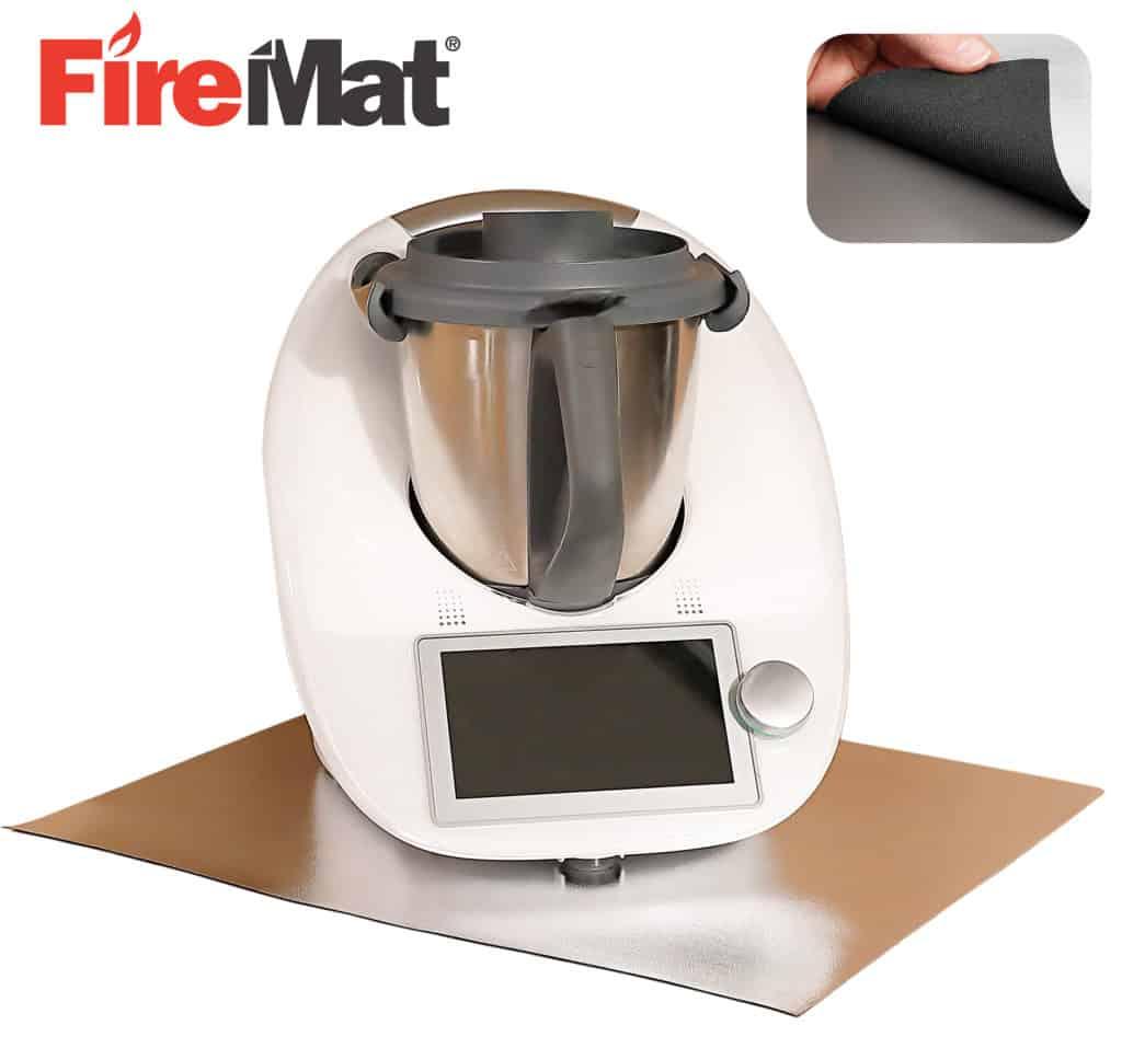 Feuerfeste Unterlage Küchenmaschine