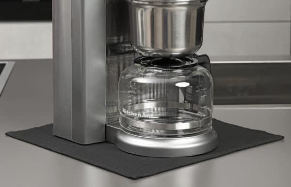 Feueferste Unterlage für Kaffeemaschinen