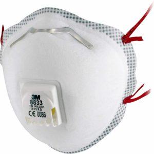 3M 8833 Atemschutzmaske